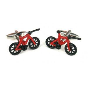 bici roja triatlon
