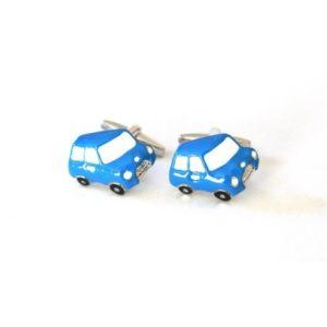gemelos mini azul