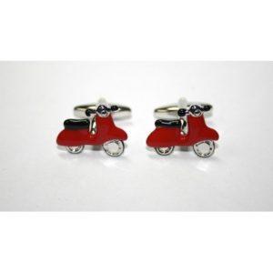 gemelos vespa roja