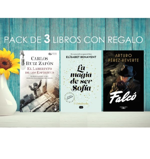 Pack libros smartwatch regalo