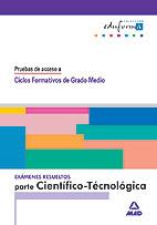 Pruebas de Acceso a Ciclos Formativos de Grado Medio Parte Científico-Tecnológica